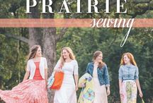 Modern Prairie Sewing / 20 Handmade Projects for You and Your Friends.  By Abigail A. Long C&T Publishing, August 2014