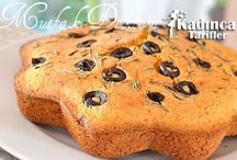 Zeytinli Mısır ekmeği
