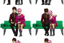 Sims 4 (poses)