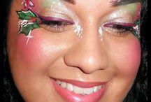 Christmas face paint