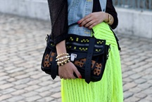 Fluorescent Mexicana / Loving this trend!