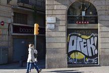 King Orek taking back the streets / Graffiti bombing in its finest