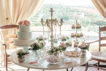 Confetti and Candy tables / Candies, confetti, sweets and much more for your wedding