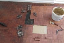 Mosaic Floor restorations by us