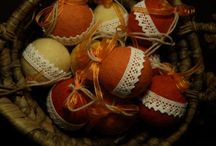 Christmas tree balls, ornaments