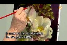 Цветы видео урок
