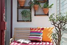 Balkony a zahrada
