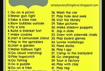 Stuff to do with kids