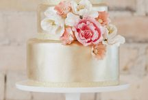 Wedding Cake Inspiration / How your wedding cake looks is almost as important as how it tastes! Beautiful wedding cake inspiration for brides-to-be.