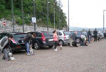"""Dog Walking - passeggiata con il cane - 11 maggio 2014 a Gemona del Friuli / Dog Walking """"sotto la pioggia"""" perché i veri dog walkers non mollano mai!!"""