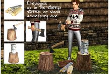 Armes / Outils - Sims 3