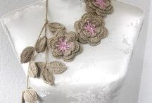 crochet jewels