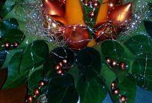 Karácsonyi dekorációim