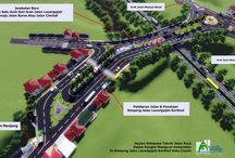 Simpang Leuwigajah-Kerkhof Kota Cimahi / Rencana Tata Kota