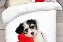 Cute Puppy Bedding