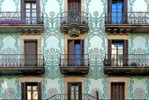 Barcelona Architecture / Architecture and streets of Barcelona