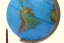 Globes en wereldbollen
