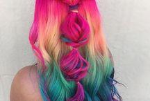 hair unicorn