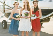 Red, White & Blue Wedding Ideas / Red, White & Blue Wedding Ideas for Summer Color Wedding Themes