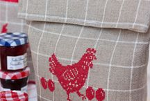 Easter craft ideas / Craft ideas, mostly cross stitch