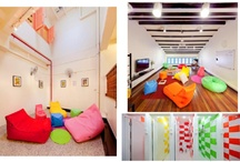 Hostels in Asia / Coolest hostels and budget hotels on the asia continent. Check it ou and choose the best accomodation which fits with your interests