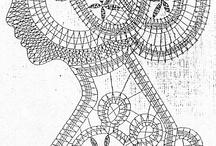 Bobbin lace Klöppeln / Some Bobbin patterns