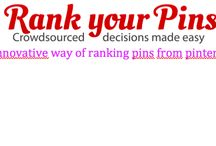 What is RankYourPins? / Explanation of RankYourPins
