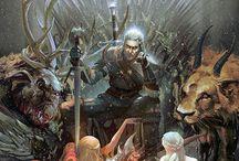 War of fantasy world / thé fanthasy world Battle warion thé book on the write raz lore