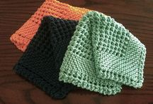 KNITTING: dishcloths