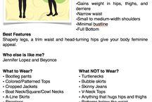 body shape outfits