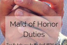 Maid of Honor / Maid of Honor Duties Bachelorette Party Bridal Shower