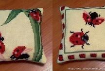 pin cushions cross stitch