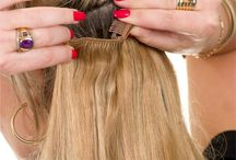 Photoshoot Clip in Hair Extensions / Adding length to your hair with clip-in hair extensions