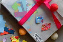 Des confettis ! / Des confettis pour mes enveloppes, mes faire-parts, mes cartes et même mes chaussettes !