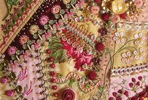 Embroidery - Crazy Quilting / by Maya Heath