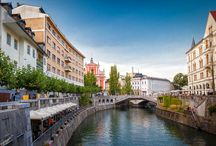 Ljubljana, Slovenia / LJUBLJANA – the small but beautiful capital of Slovenia