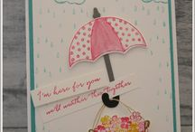 Stampin Up Donnerwetter / Weather together