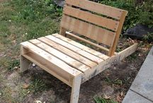 outdoor furniture / by Denise Courville