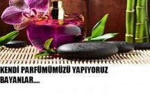 Parfüm yapimi