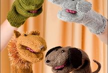 hand puppets / by Maggie Kilvington