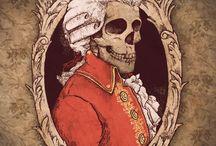 Squelette - illustration