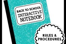Interactive notebooks / by Natalie Marie