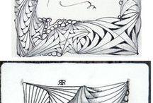 Zentangle y mandalas