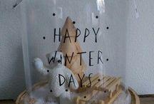 Huis winter