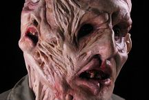 Special FX Makeup / Tutorials and photos of special effects makeup that can be done with Fauxtex™