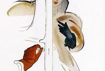 Иллюстрация и мода