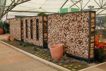 Holzstapelhilfen