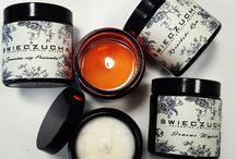 Natural Soy Candles / Natural soy candles with exceptional scents