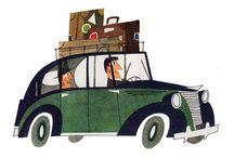 transportation / Illustrations of vehicles