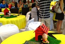 Ideas for Eros' 1st Birthday / Thinking of Charlie Brown/Peanuts Theme / by Maribel Silva